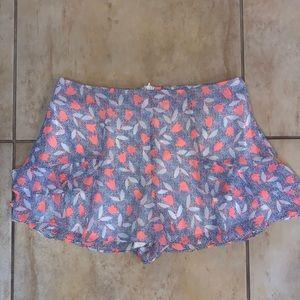 Vibrant Lush Shorts/Skort